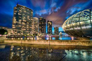 The Future City - Edge of Melbourne