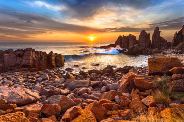 The Epic Pinnacles on Phillip Island