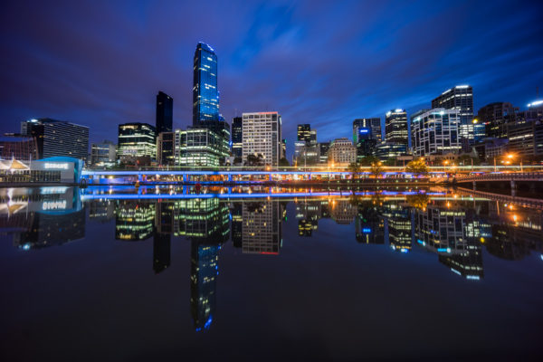 While Melbourne Sleeps