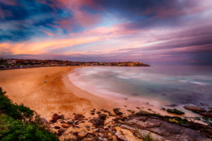 Sunset on the Sydney Beaches