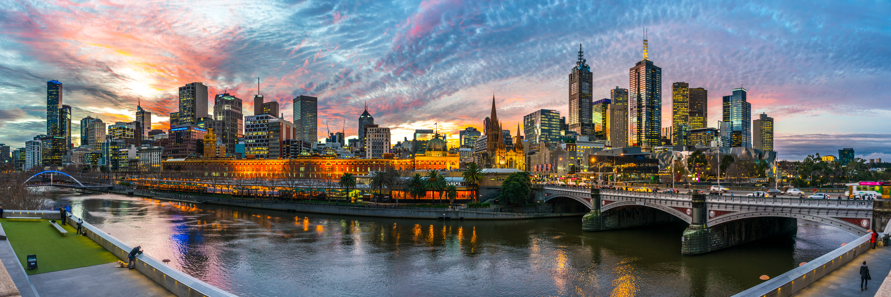 Panoramic Melbourne at its Best | Steven Wright