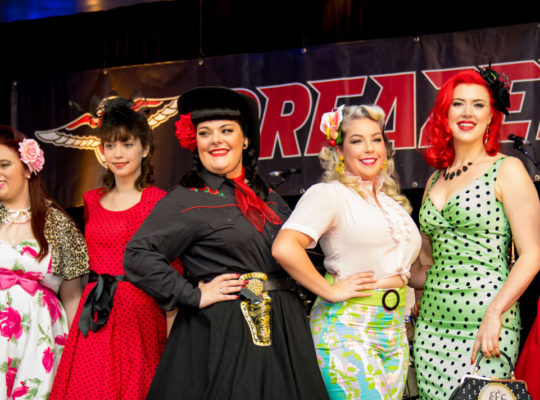 The Pin Ups of Greazefest 2016