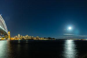 Sydney Icons at Moonrise