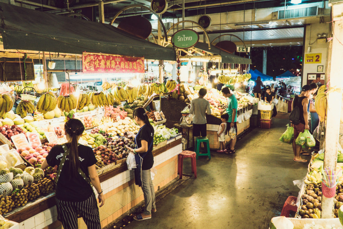 Market in Patong