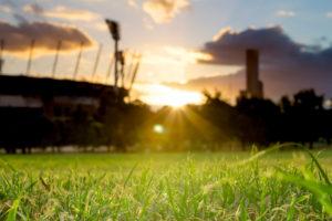 Sunset on the MCG
