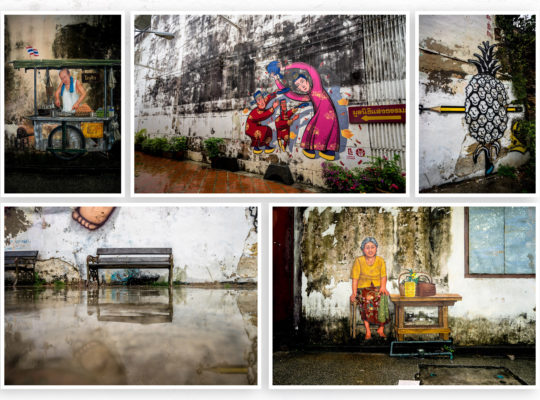 Pictures, Paintings and Phuket Old Town