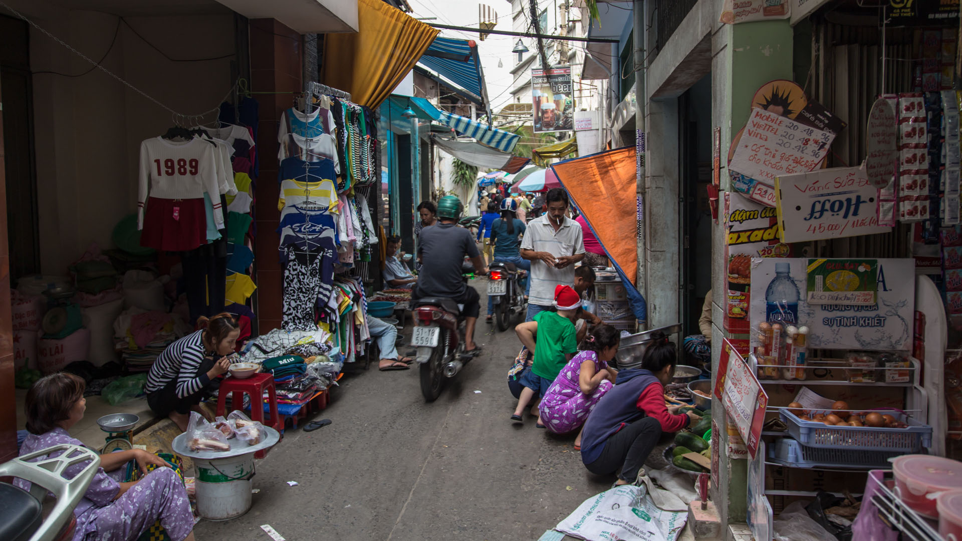 Streets and Laneways of Ho Chi Minh City