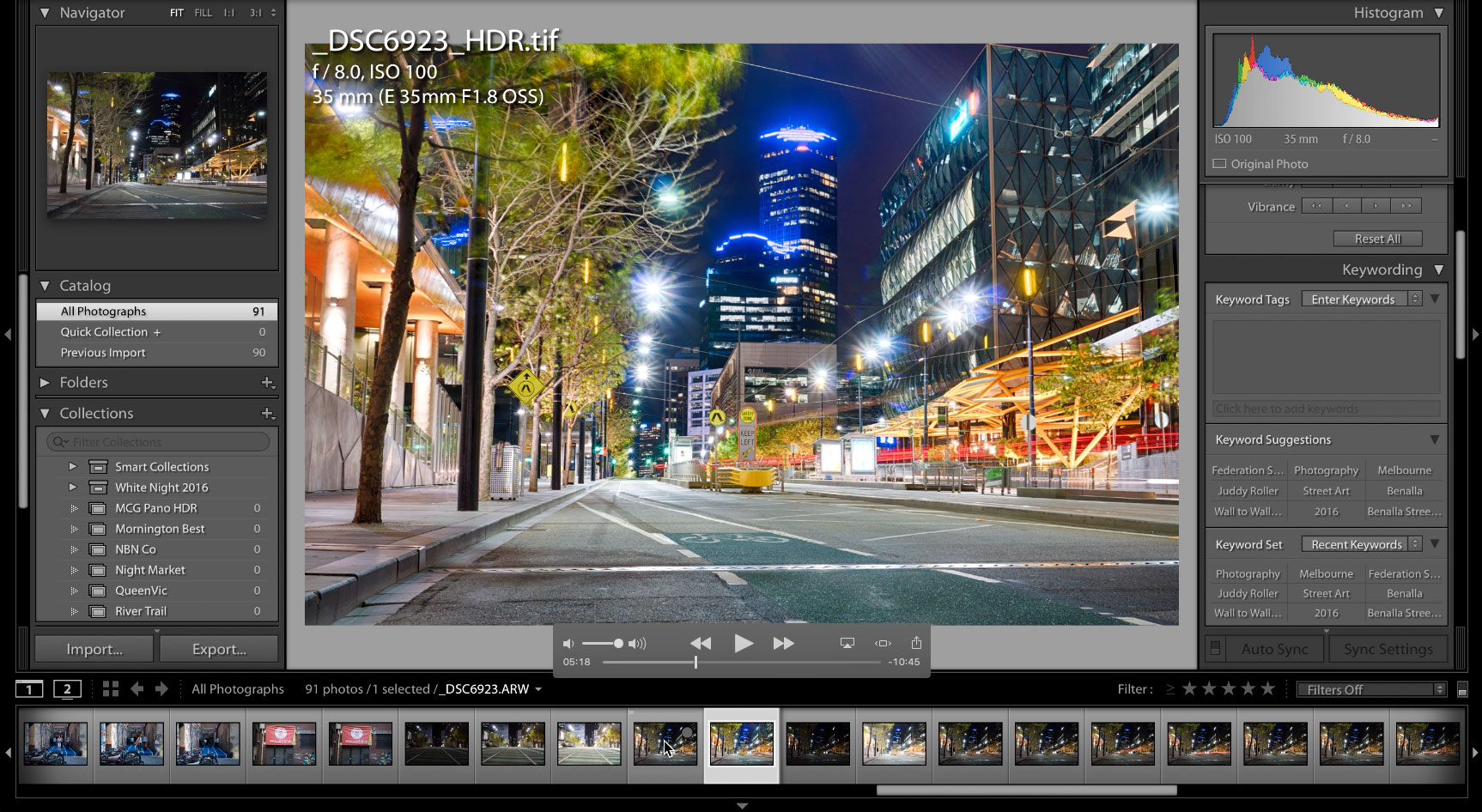 Building an Image - HDR and Light Trails