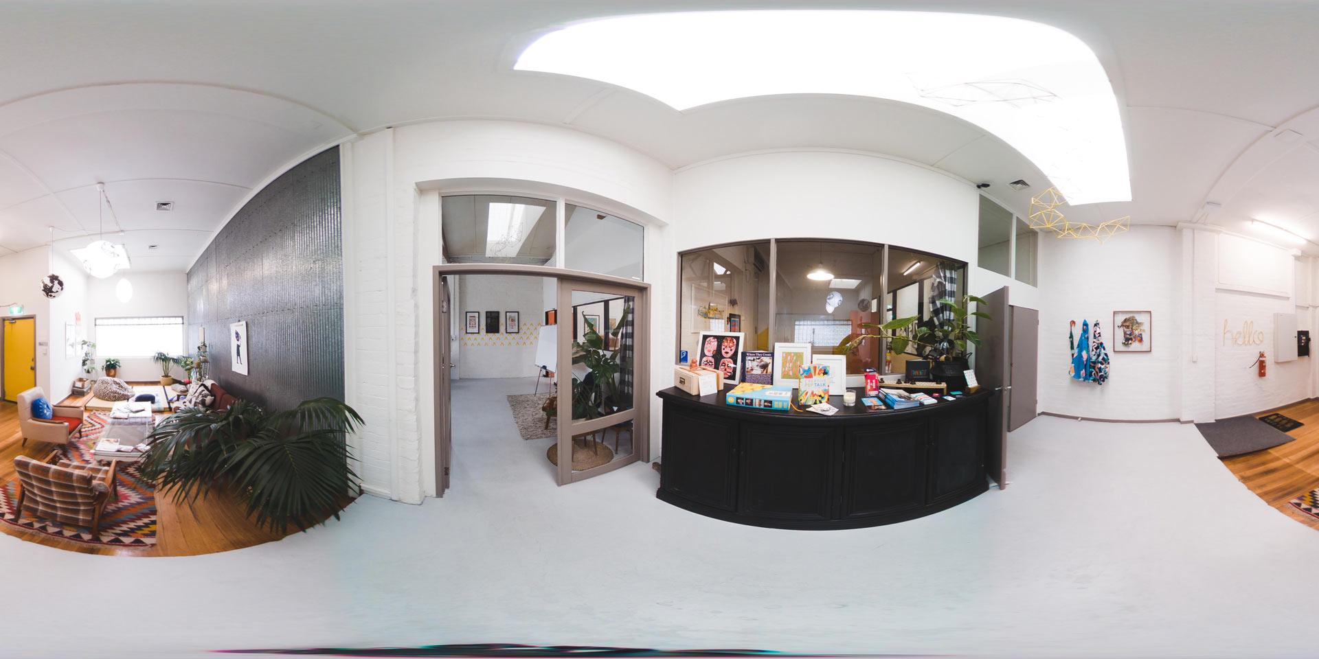 3D Virtual Tour - Path Hunting