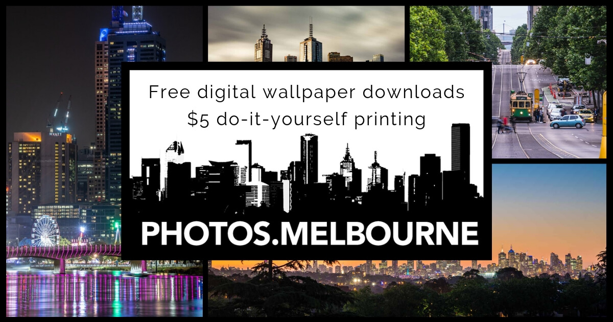 Launching Photos.Melbourne. Doing it my way.