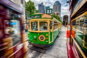 Heritage W Class Circle Tram of Melbourne