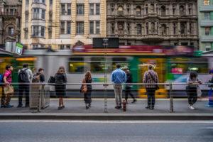 Balance & The 59 Tram on Elizabeth
