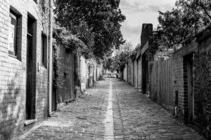 Built on Bluestone & Brick. Backstreets of North Melbourne.