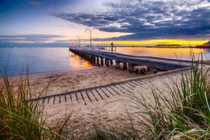 Lagoon Pier in Port Melbourne