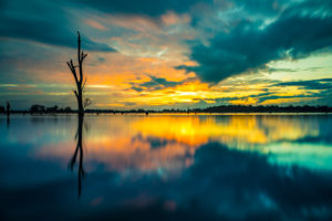Colours of Lake Nagambie