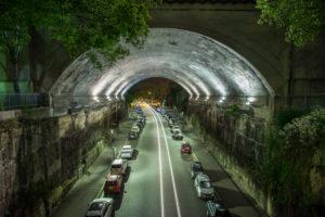 Tunnel Under the Harbour Bridge